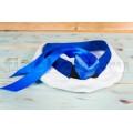Бескозырка Моряк с регулировкой на резинке с вышивкой синий кант
