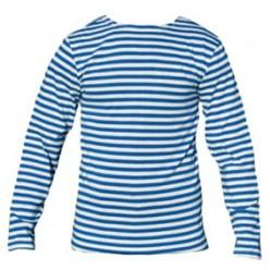 Тельняшка мужская с голубой полосой 100% хлопок